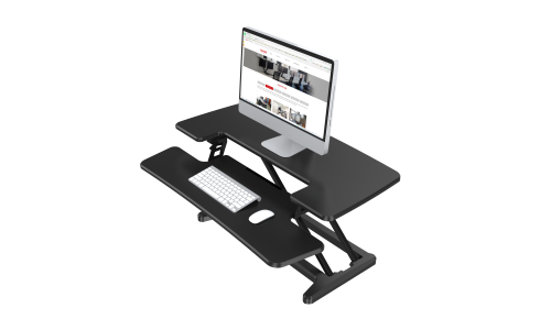 Quick-Release, Removable Keyboard Tray