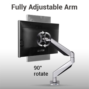 fully adjustable arm