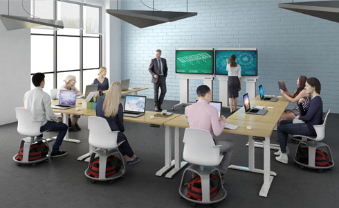 Turn Anyplace into a Collaborative Space